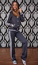 Женский спортивный костюм на кнопках, фото 2
