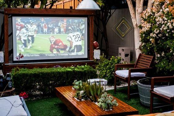 LandScape Cinema домашний летний кинотеатр в саду