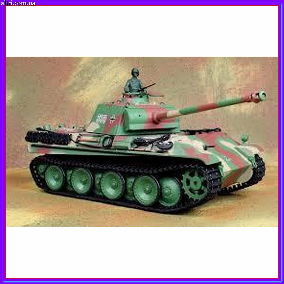 Радиоуправляемый танк HENG LONG Panther Type G 3879-1  Танк пантера на радиоуправлении