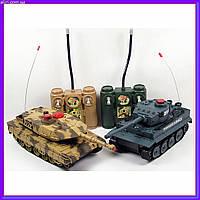 Танковый бой на радиоуправлении 1:24 Huan Qi 558 2 танка, фото 1
