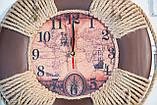 """Часы деревянные """"Спасательный круг """", фото 6"""