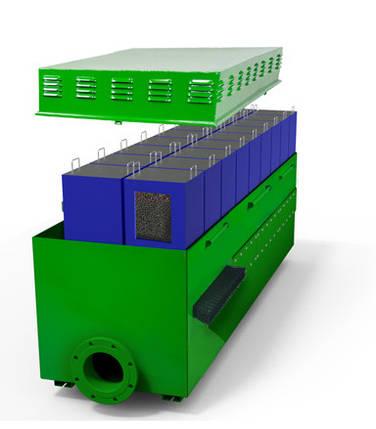 Канализационный фильтр для очистки воздуха Wager USA №2050-900 (промышленный) для водоканалов, застройщиков, фото 2
