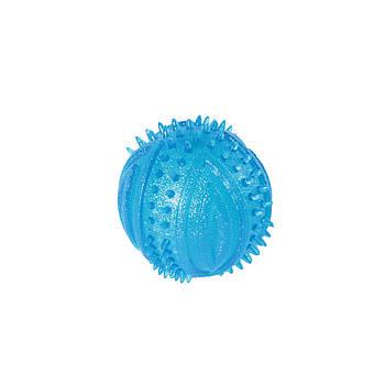 Игрушка TPR для собак FOX мяч шипированный, 6 см