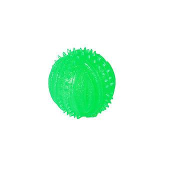 Игрушка TPR для собак FOX мяч шипированный, 8 см