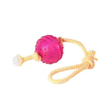 Игрушка для собак Перетяжка с шаром TPR 6*33 см, фото 2