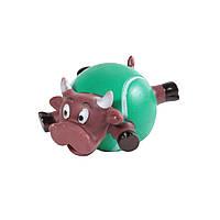Игрушка Корова с телом-мячем, 9 см