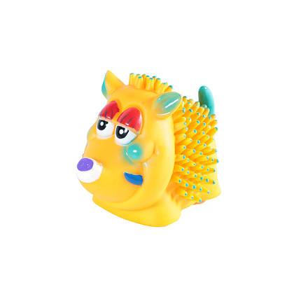 Игрушка для собак Кабанчик с шипами, 10 см, фото 2