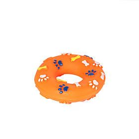 Игрушка для собак Кольцо с лапками, 13 см
