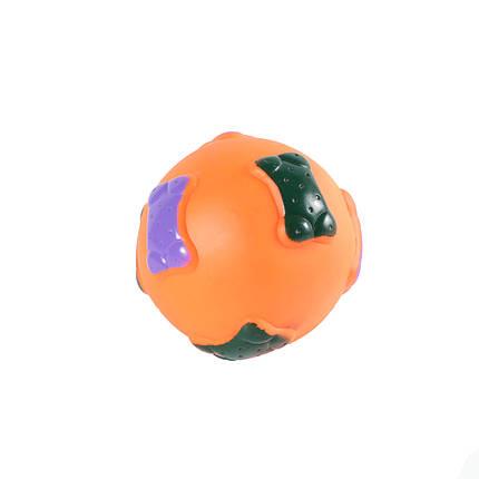 Игрушка для собак Мяч цветной, 8,5 см, фото 2