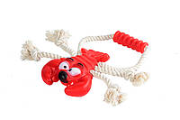 Игрушка для собак Канат грейфер рак, 30 см