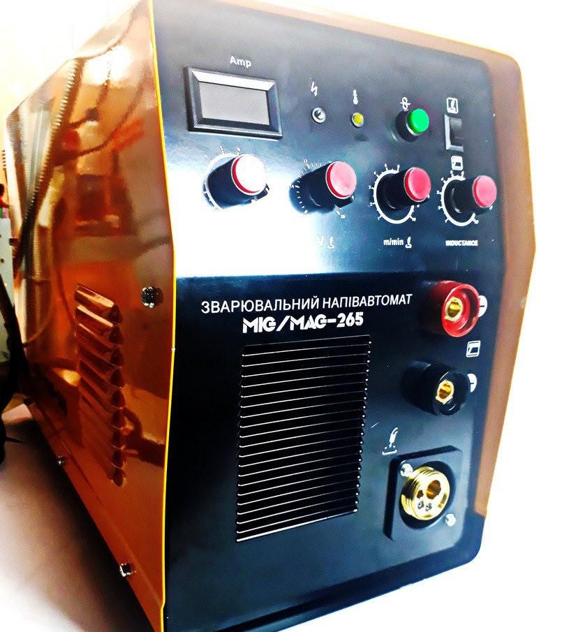 Зварювання інверторна напівавтомат 2 в 1 Kaiser MIG/MAG 265 (БЕЗКОШТОВНА ДОСТАВКА)