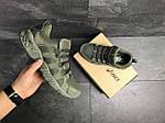 Мужские кроссовки Asics (Темно-зеленые) , фото 5