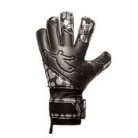 Перчатки вратарские BRAVE GK REFLEX BLACK (ROLLFINGER/FINGERSPROTECTION)