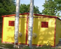 """Модульная транспортабельная котельная на твердом топливе """"КОЛВИ"""" КМ-2-200-Т-К-А 100 DS (200 квт)"""
