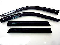Дефлекторы окон (ветровики) Kia Carens 2(2002-2006), Cobra Tuning