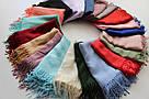 Турецкий шарф из тонкой пашмины 116-14, фото 4