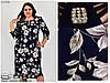 Женское платье в большом размере раз. 52.54.56.58.60.62.64.66 , фото 2