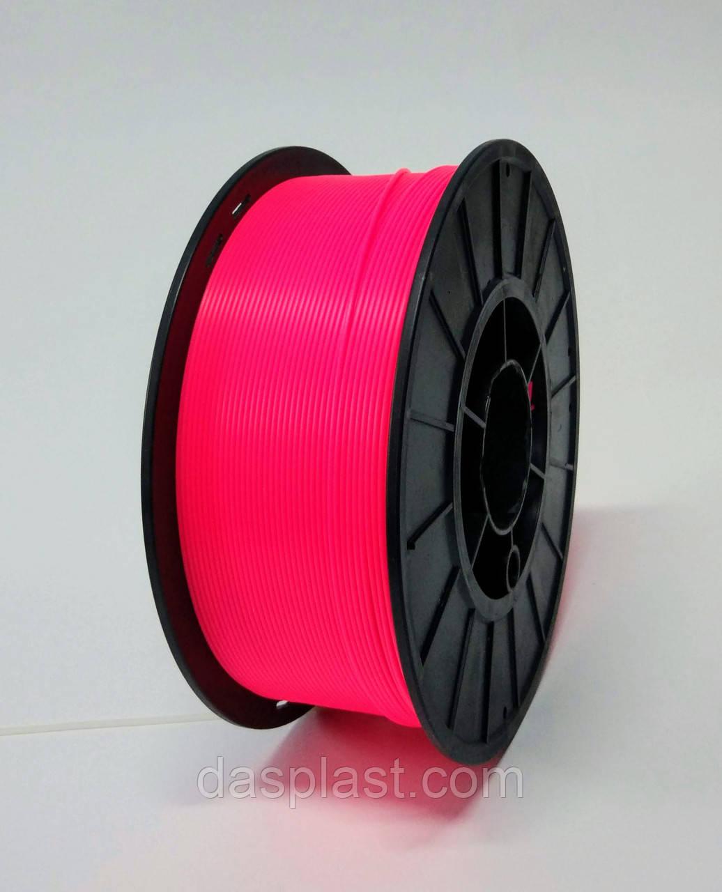 АБС пластик 1 кг для 3d принтеров и ручек, пурпурный неоновый