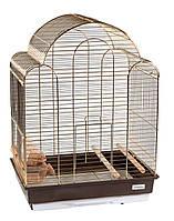 Клетка для птиц Fox золотая 42х30х56 см
