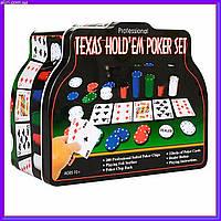 Набор для игры в покер THS-153 техасский холдем