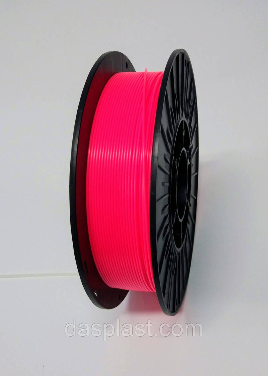 АБС пластик 0,5 кг пурпурный неоновый, 1.75 мм пластик для 3d печати