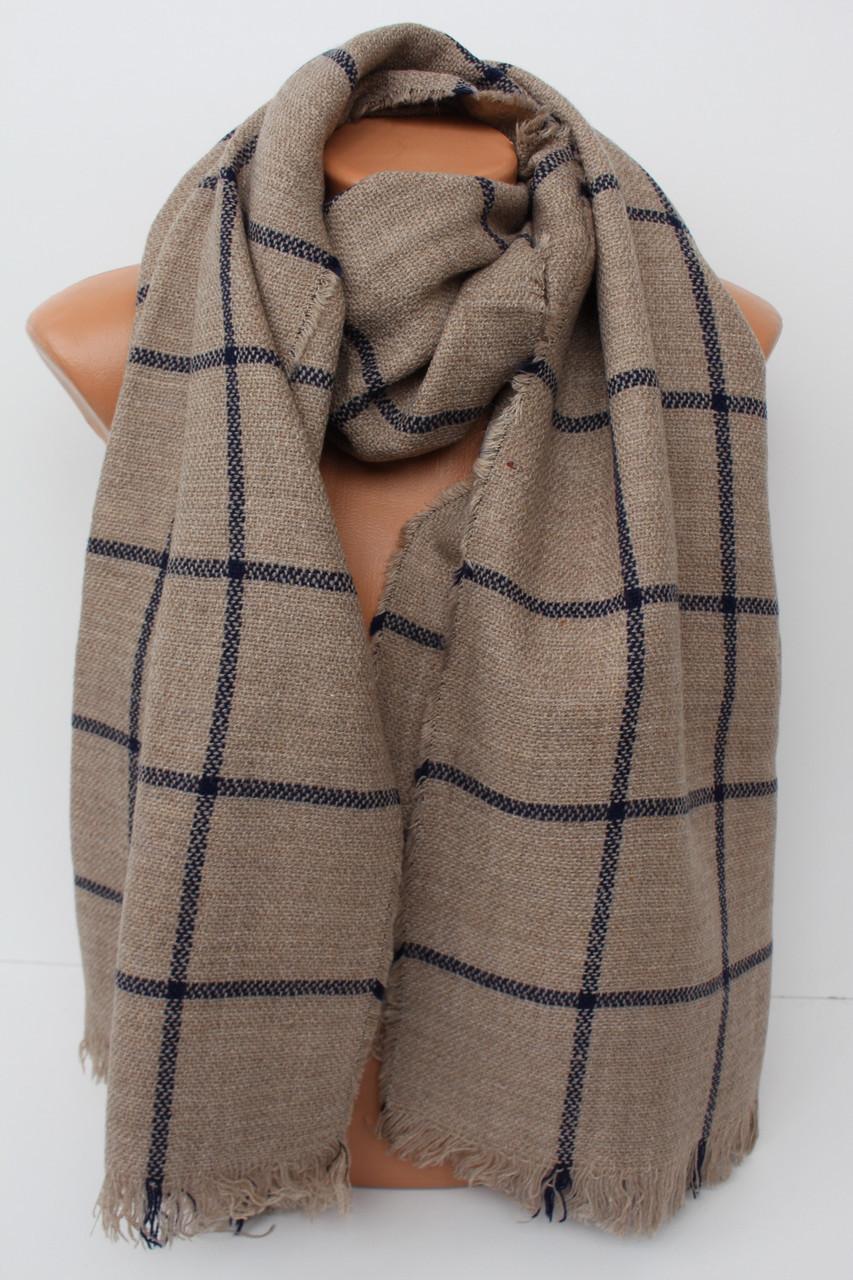 """Теплий великий шарф-плєд """"Аліса"""" 156-7"""