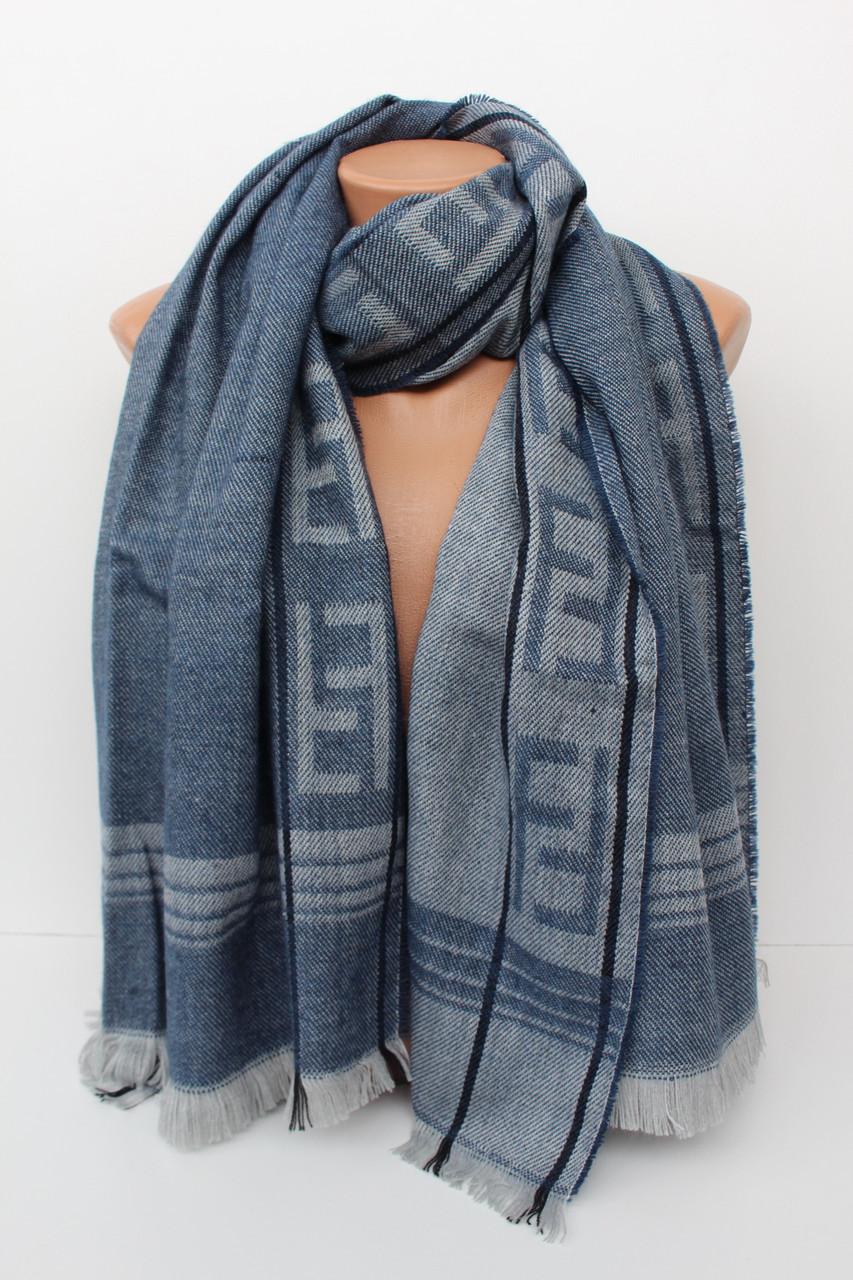 """Теплий великий шарф-плєд """"Аліса"""" 156-13"""