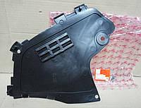 Защита бампера левая Dacia Logan фаза 1 (Asam 30497)(среднее качество)