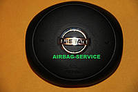 Накладка, заглушка на подушку безопасности, имитация Airbag, крышка в руль на Nissan Micra