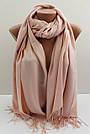 """Палантин шарф із пашміни """"Адель"""" 120-20, фото 3"""