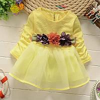 Красивое платье для девочки  размер 86.