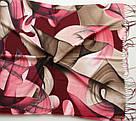 "Палантин шарф з абстракцією ""Раміна"" (Туреччина) 115-2, фото 3"