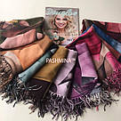 "Палантин шарф з абстракцією ""Раміна"" (Туреччина) 115-2, фото 6"