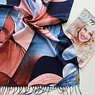 "Палантин шарф з абстракцією ""Раміна"" (Туреччина) 115-3, фото 2"
