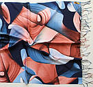 "Палантин шарф з абстракцією ""Раміна"" (Туреччина) 115-3, фото 3"
