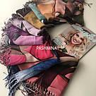 "Палантин шарф з абстракцією ""Раміна"" (Туреччина) 115-3, фото 5"