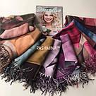 "Палантин шарф з абстракцією ""Раміна"" (Туреччина) 115-3, фото 6"