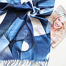 "Палантин шарф з абстракцією ""Раміна"" (Туреччина) 115-4, фото 2"