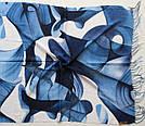 "Палантин шарф з абстракцією ""Раміна"" (Туреччина) 115-4, фото 3"