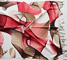 "Палантин шарф з абстракцією ""Раміна"" (Туреччина) 115-6, фото 3"