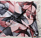 "Палантин шарф з абстракцією ""Раміна"" (Туреччина) 115-8, фото 3"