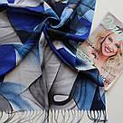 "Палантин шарф з абстракцією ""Раміна"" (Туреччина) 115-9, фото 2"