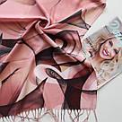 "Палантин шарф з абстракцією ""Раміна"" (Туреччина) 115-11, фото 2"