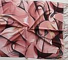 "Палантин шарф з абстракцією ""Раміна"" (Туреччина) 115-11, фото 3"