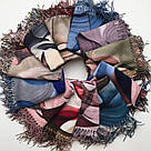 "Палантин шарф з абстракцією ""Раміна"" (Туреччина) 115-11, фото 4"