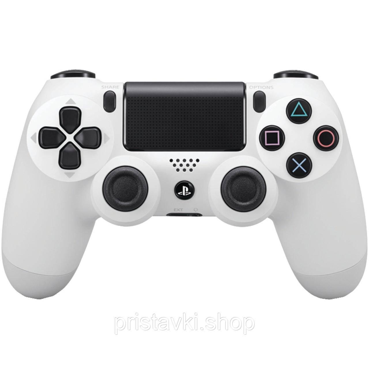 Контролер Playstation 4 білий v2