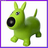 Прыгун собачка MS1592 зеленый