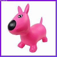 Прыгун собачка MS1592 розовый