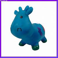 Прыгун резиновый M01360 корова Бетси синяя