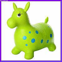 Прыгун-лошадка детская MS 0372 (Зеленый)